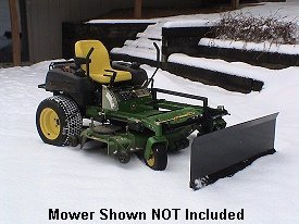 Zero turn snow plows blades for zero turn radius mowers by country all of our zero turn snow plows now have a new curved style blade publicscrutiny Images