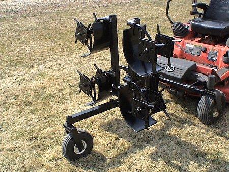 Zero Turn mower lawn aerators for zero turn radius mowers by
